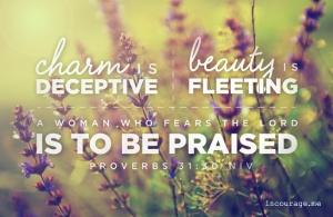 proverbs charm